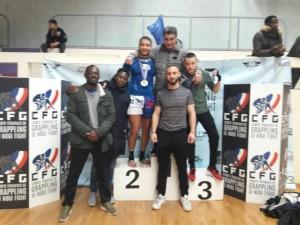 Compétition de grappling : des médailles d'or pour Arcams !