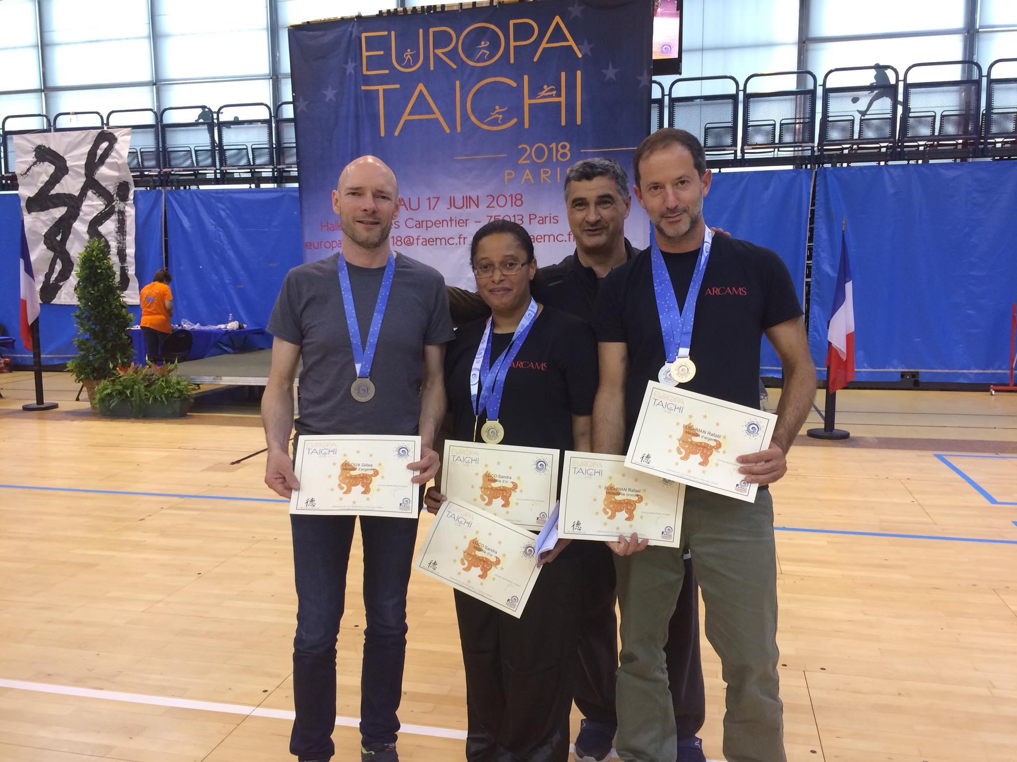EUROPA TAICHI : ARCAMS brille encore !